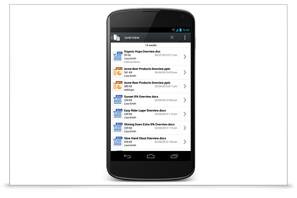 Oracle WebCenter Content-screenshot-1