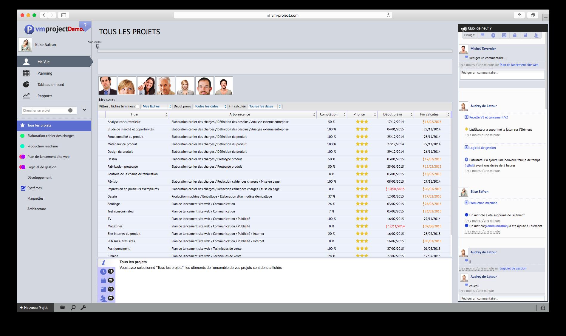 VMproject: Gestion de tickets, Contrôle strict des accès aux serveurs, Vérification de présence