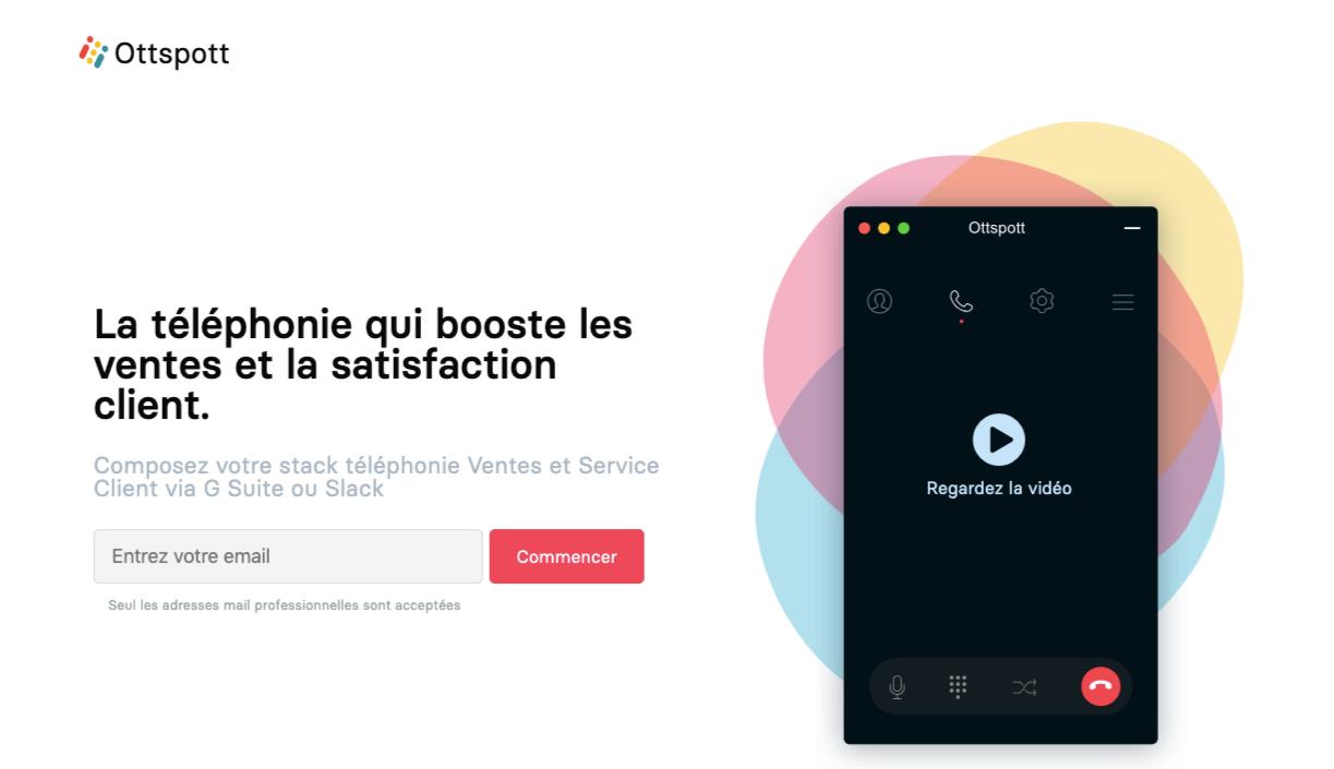 Avis Ottspott : La Téléphonie d'entreprise connectée à vos apps métiers - appvizer