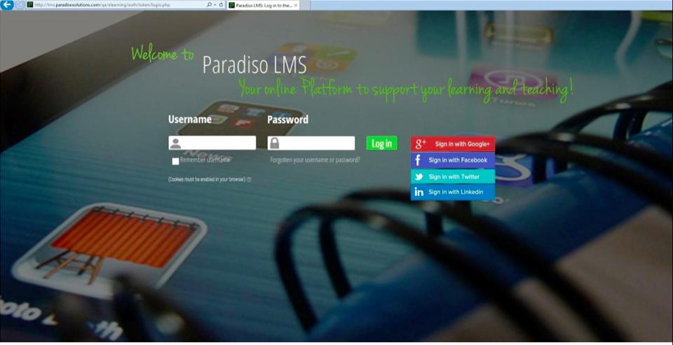 Paradiso LMS-screenshot-0