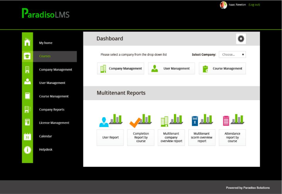 Paradiso LMS-screenshot-1