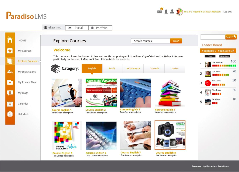 Paradiso LMS-screenshot-3