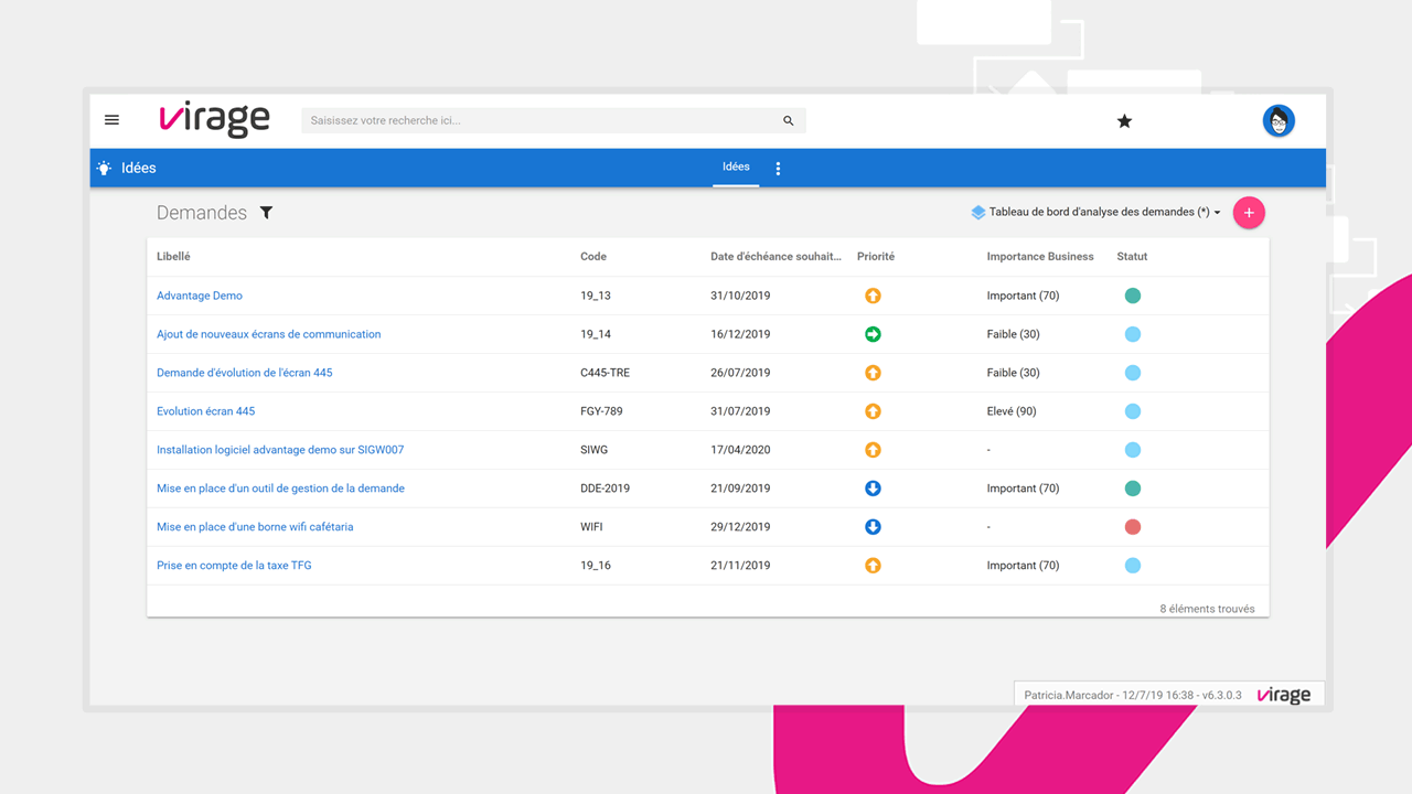 Faites de la manière la plus simple des demandes de projets grâce à Project Monitor