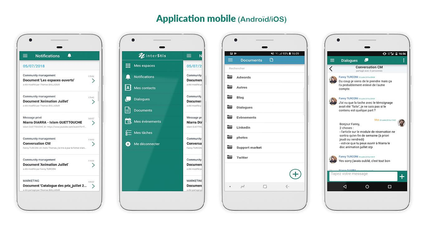 Application mobile (Android/iOS)