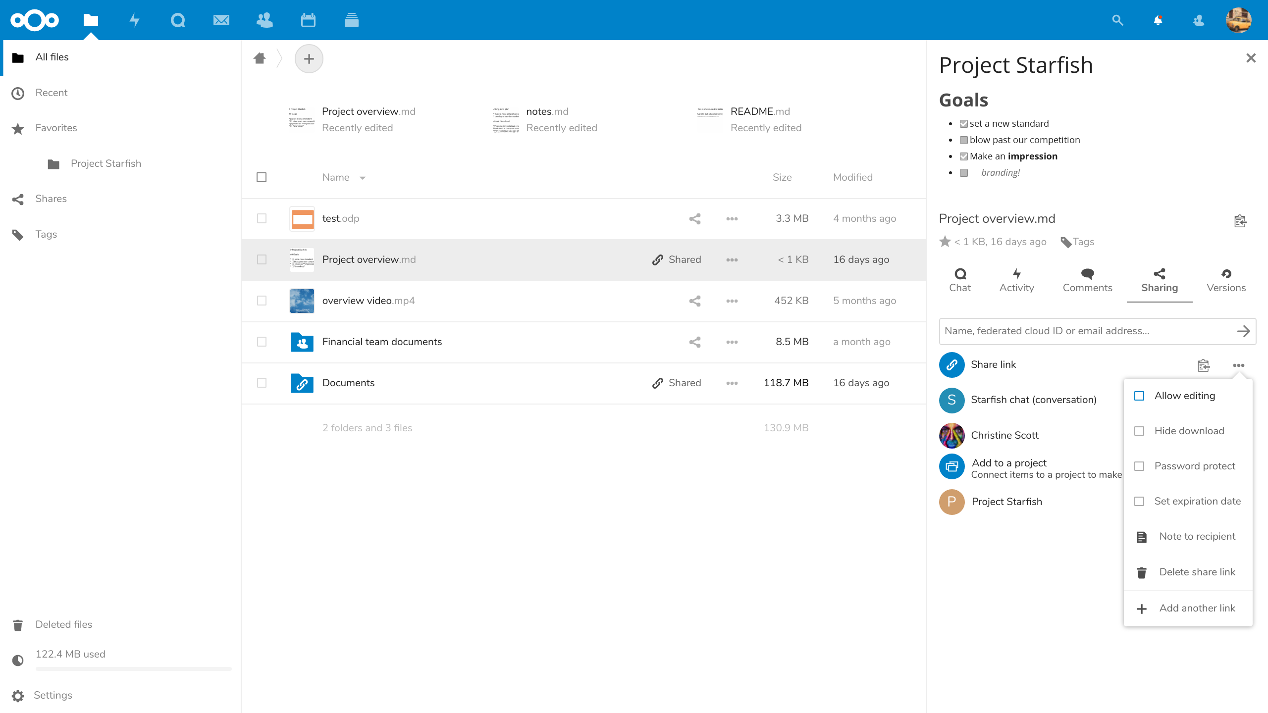 Nextcloud : créer, partage de fichiers en ligne (Mac, Windows, Linux)