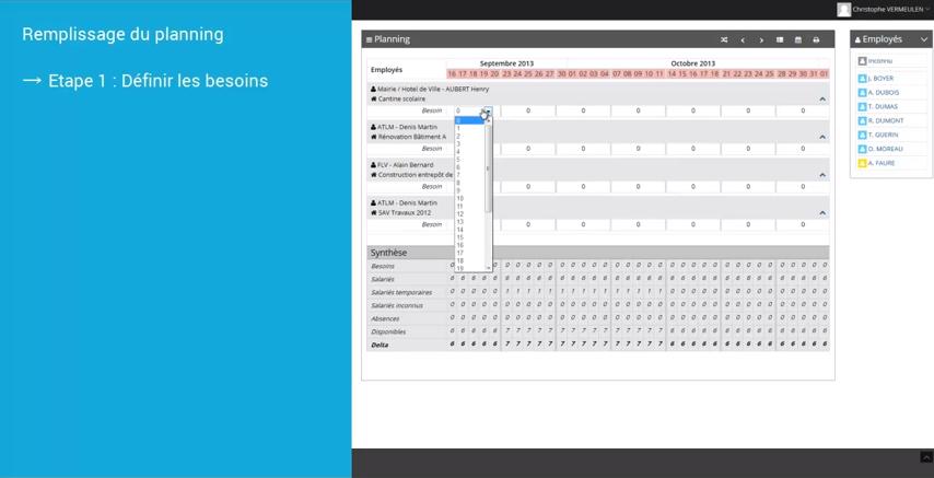 LeadBTP: Planification, Visualisation et suivi des projets, Jalons, étapes
