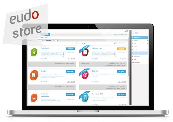 Allez encore plus loin dans la relation avec vos contacts grâce à l'Eudostore et enrichissez votre Eudonet de nouvelles fonctionnalités.