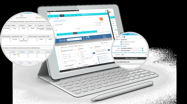 La double compétence éditeur/intégrateur acquise au cours de plus de 4 000 projets assure une maitrise complète de la solution, de sa création à sa mise en place.