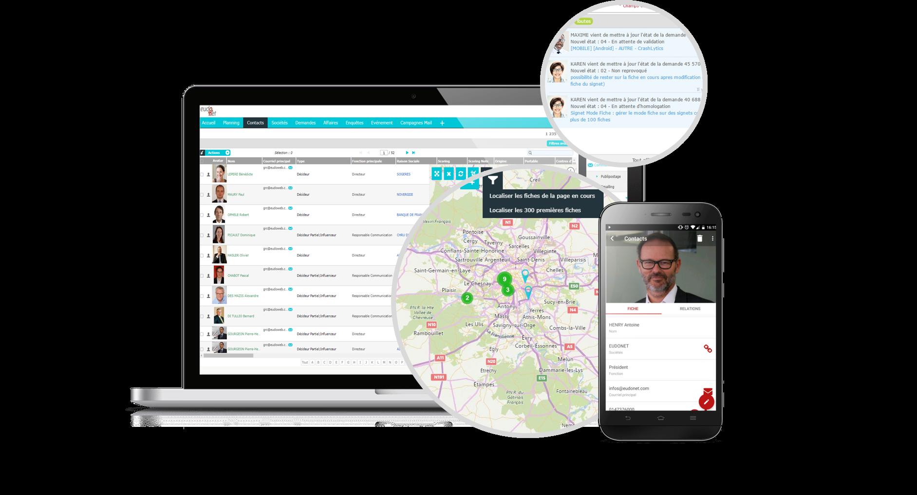 Placez votre CRM au cœur de votre système d'information en le connectant à toutes vos applications