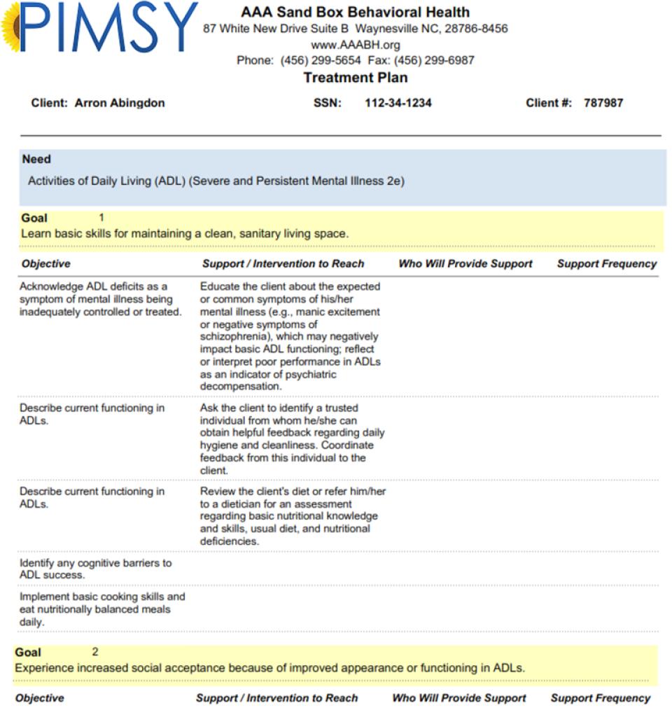 PIMSY Mental Health EHR-screenshot-4