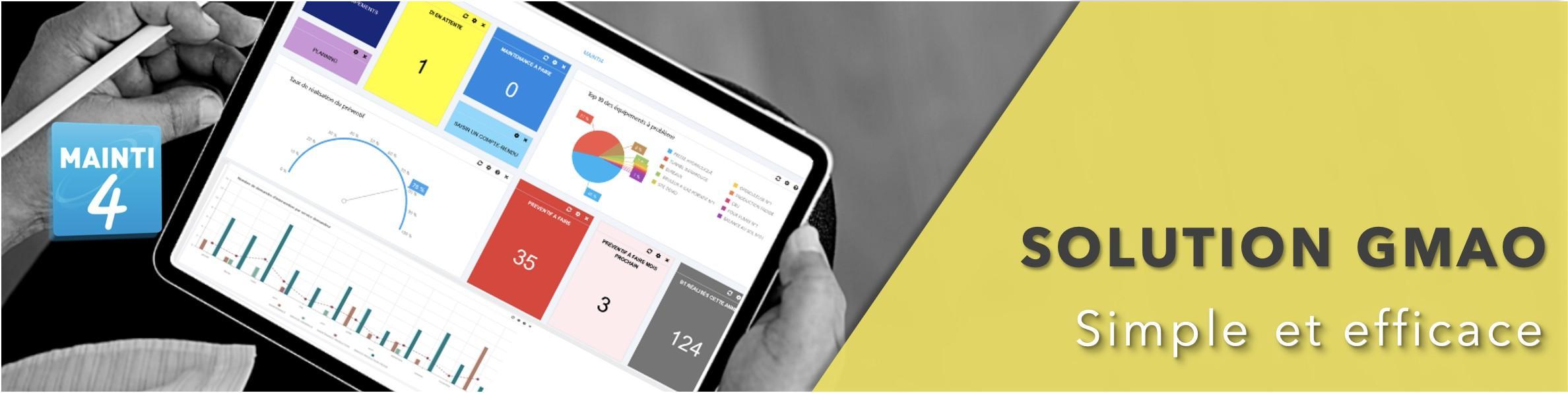 Avis MAINTI4 : GMAO web et 100% mobile pour la maintenance industrielle - Appvizer