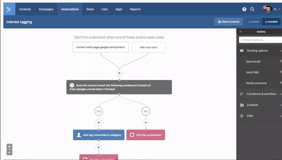 ActiveCampaign-screenshot-1