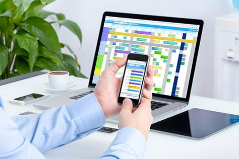 Travaillez sur site ou à distance avec PlanningPME tout est possible !