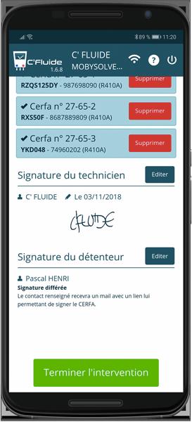 Le client est absent ! Signature différée, il recevra un lien pour signer les CERFA depuis son PC ou son smartphone