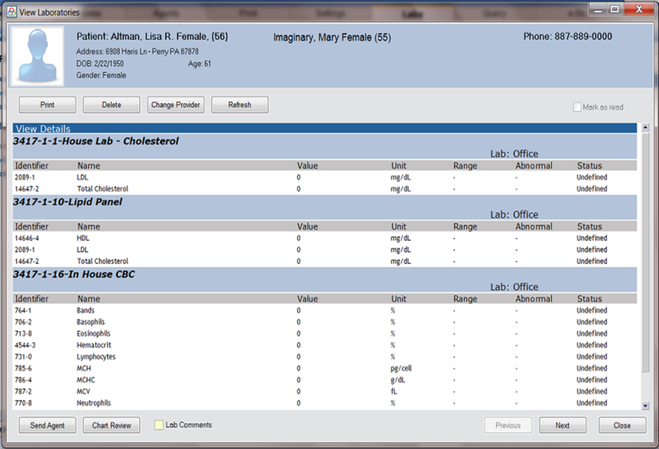 Praxis EMR-screenshot-1