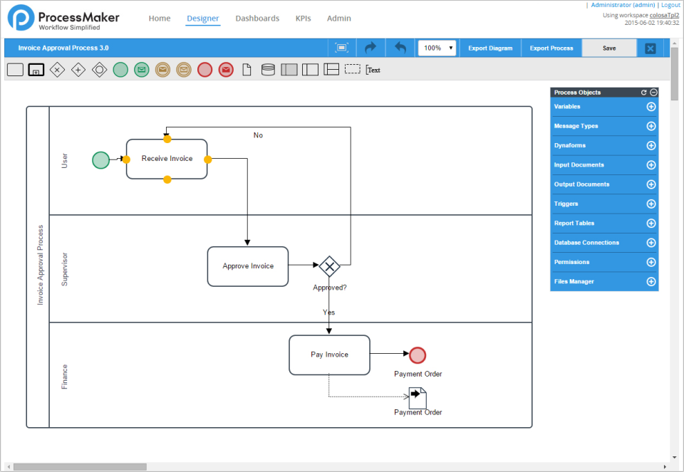 ProcessMaker Workflow Software-screenshot-1