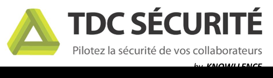 TDC Sécurité, logiciel Knowllence