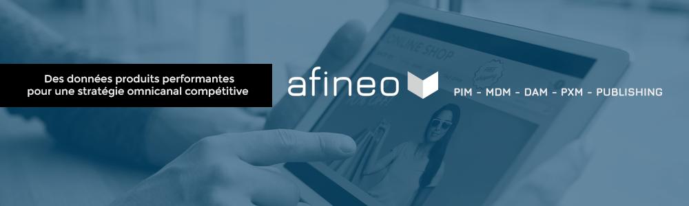 afineo PIM : base de données référentiel produit, management de données - Avis et prix