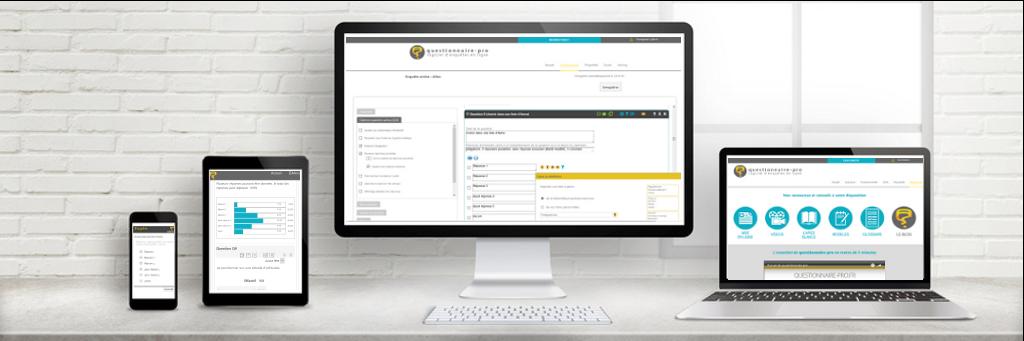 Avis questionnaire-pro : Logiciel d'enquêtes/sondages avec prestations sur-mesure - Appvizer