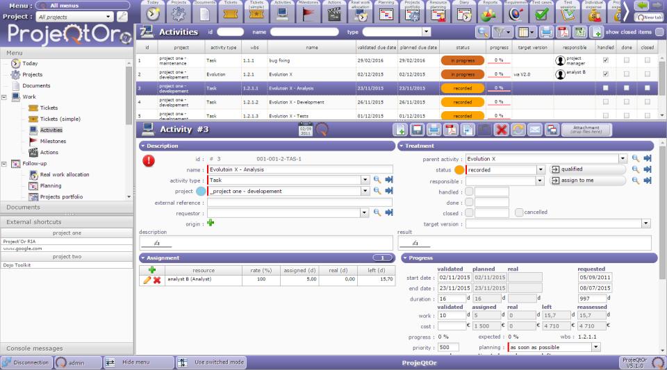 ProjeQtOr-screenshot-4