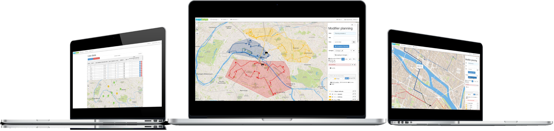 Mapotempo Web : logiciel SaaS de planification et d'optimisation de tournées.