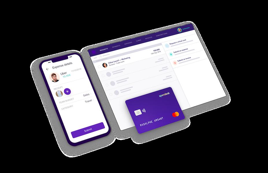 Spendesk, la solution de gestion des dépenses conçue pour les équipes finance modernes.