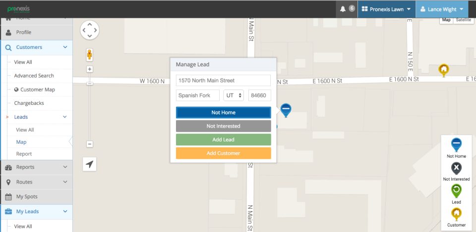 Pronexis Lawn Software-screenshot-2
