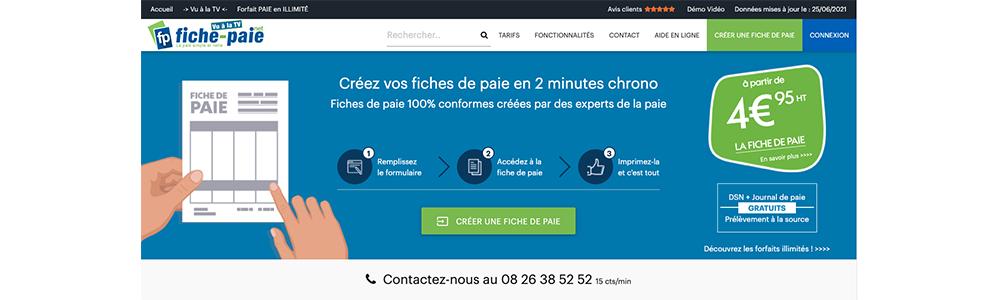 Avis Fiche-Paie.net : Création de fiches de paie en 2 minutes seulement - appvizer