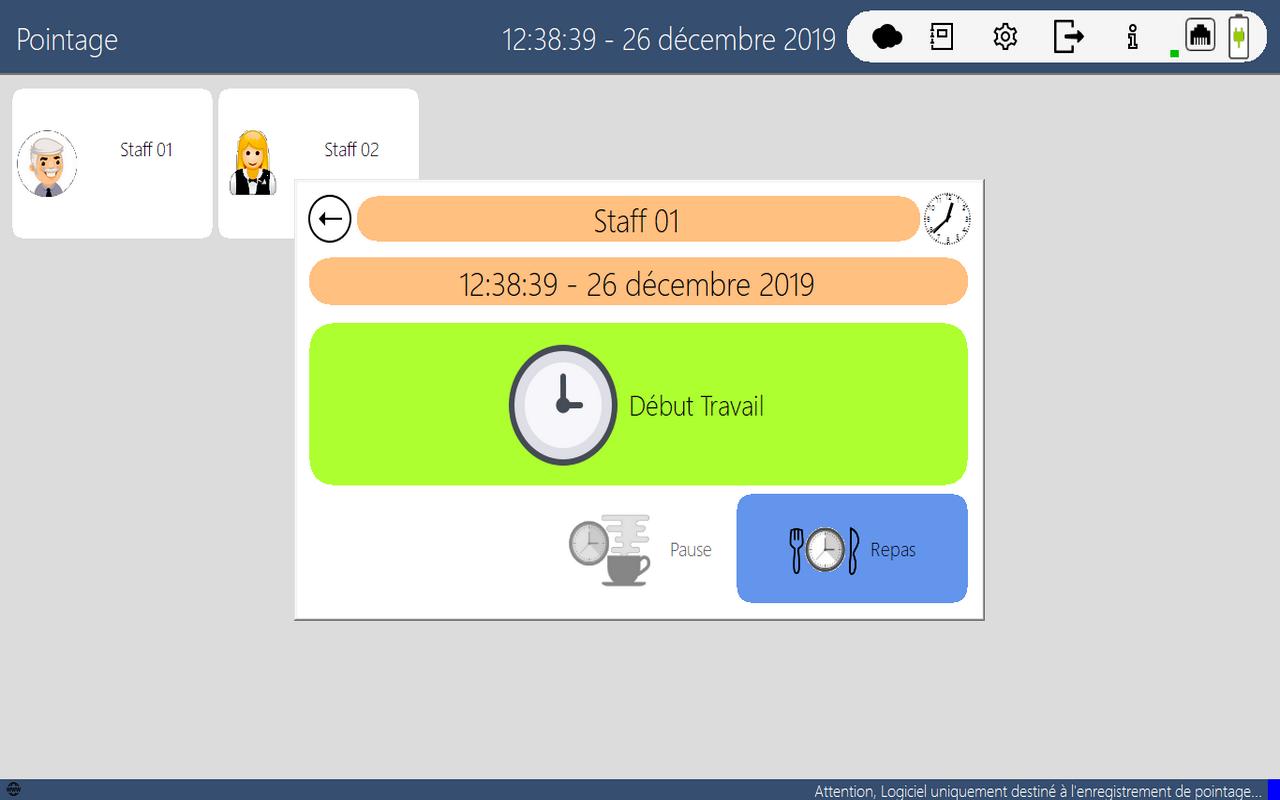 Avis JYL Time-Clock : Logiciel de Pointage - Appvizer