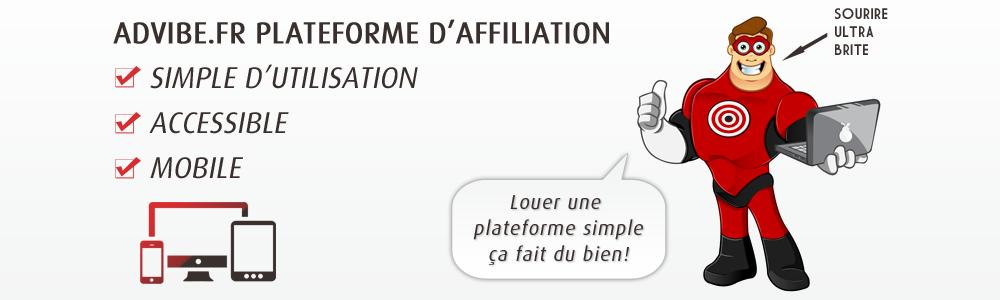 Avis adVibe : Votre plateforme d'affiliation 100% marque blanche - appvizer