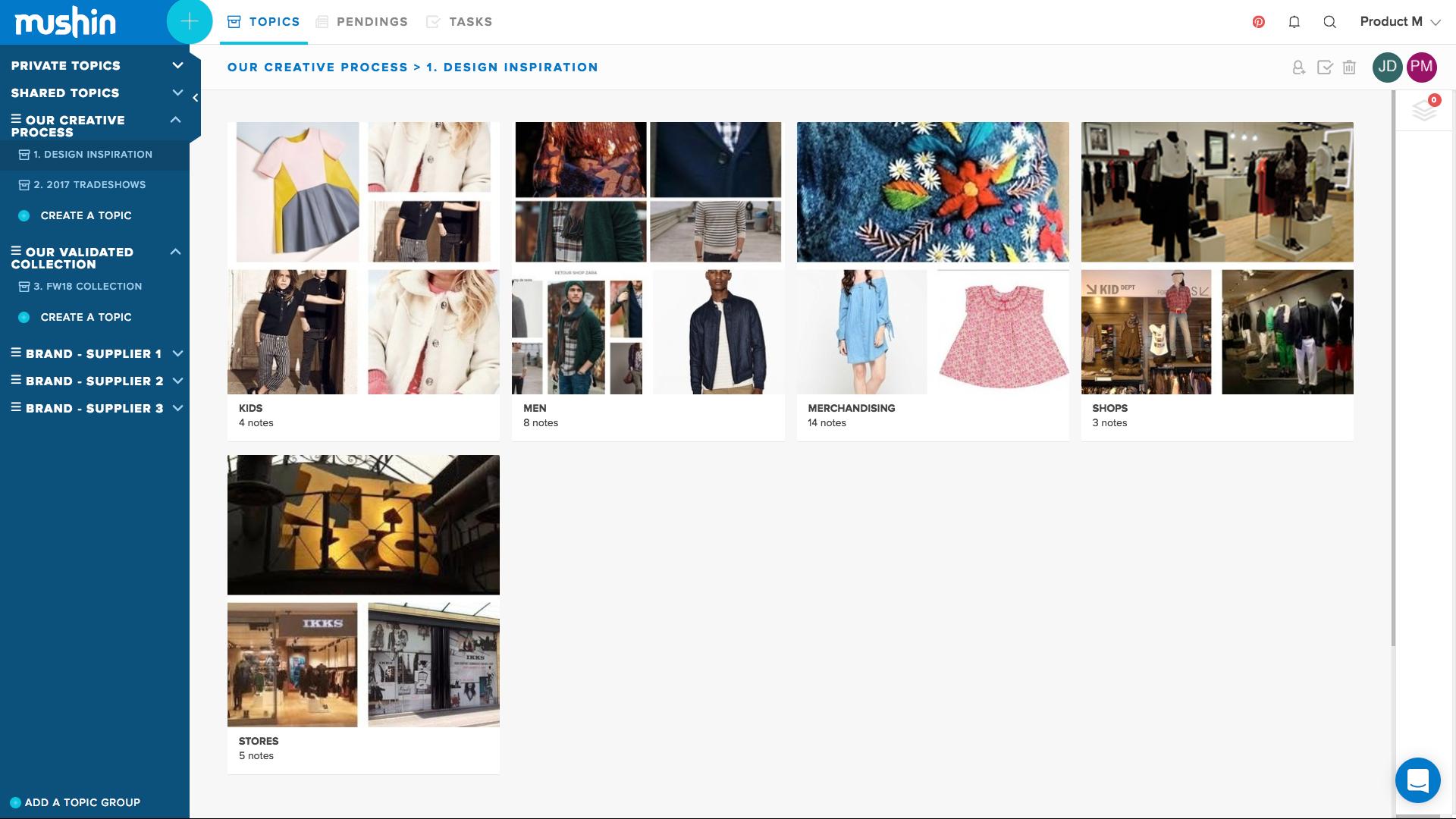 Sur le web, repérez rapidement les tendances et les incontournables pour la prochaine collection.
