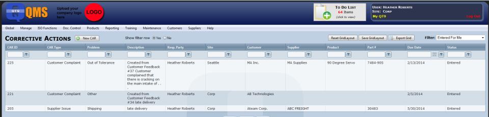 QT9 Quality Management-screenshot-1