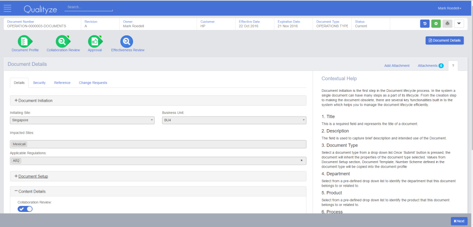 Qualityze EQMS Suite-screenshot-1