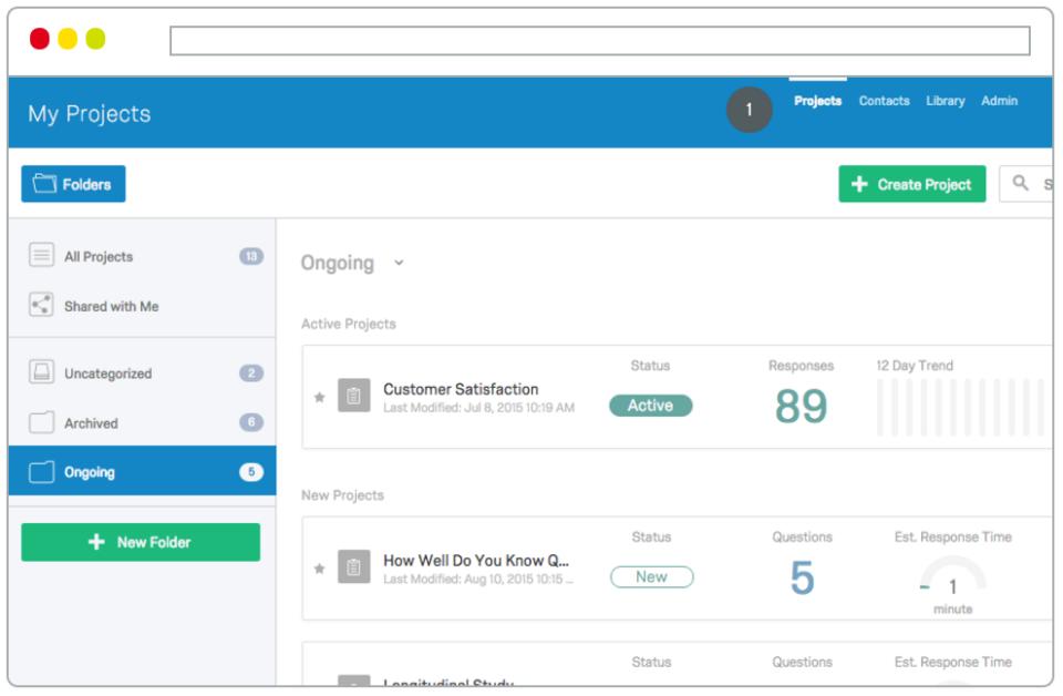 Qualtrics Insight Platform-screenshot-0