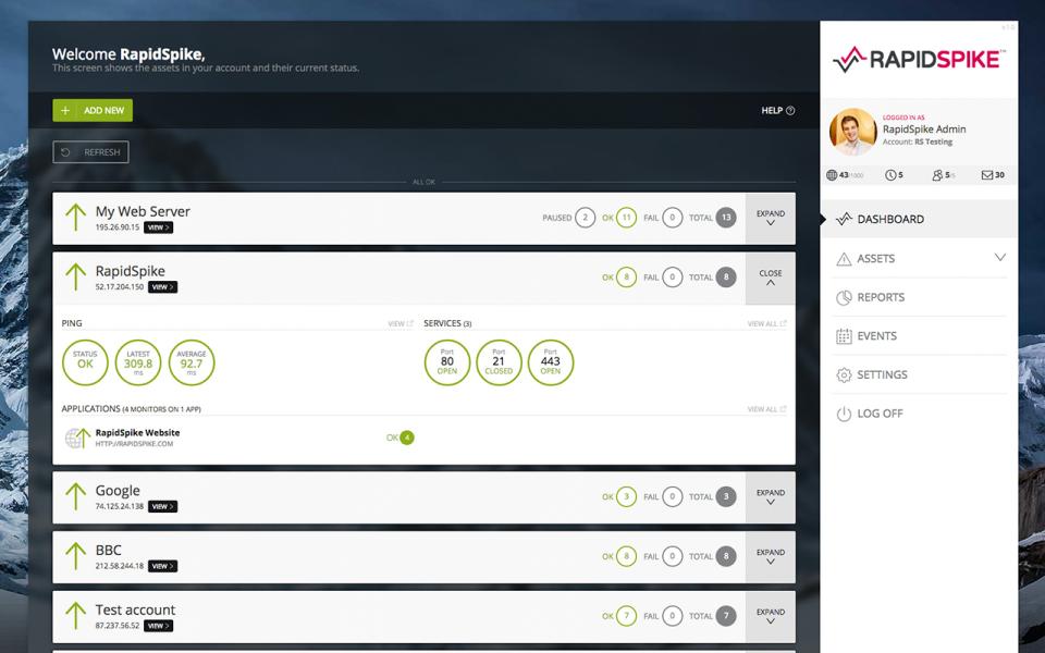 RapidSpike-screenshot-0