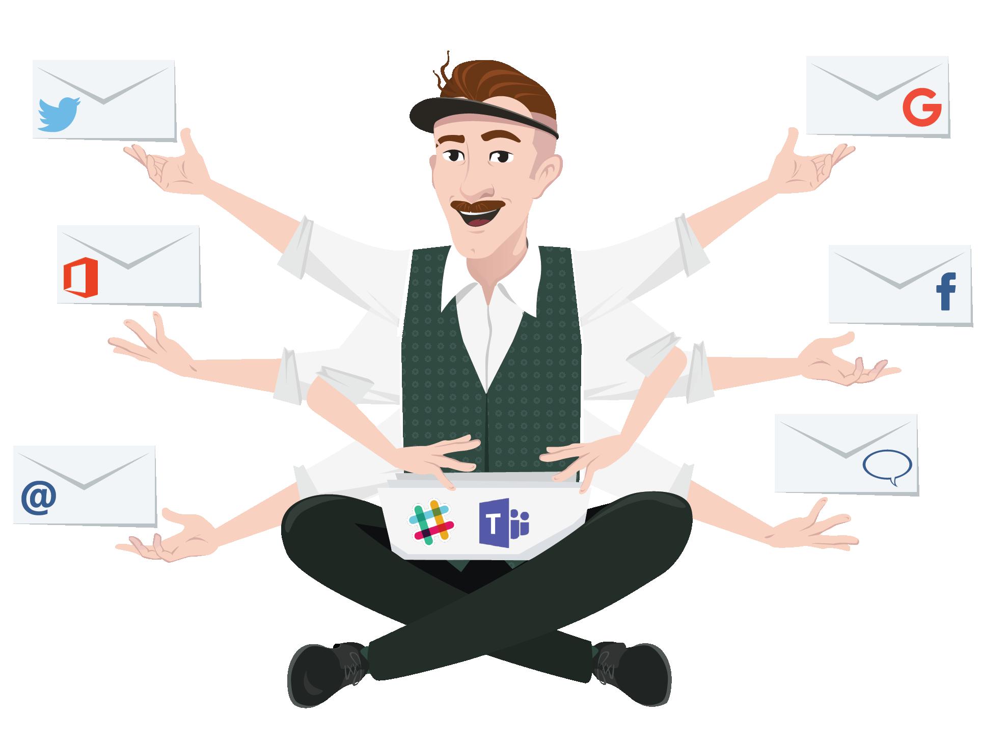 Avis MailClark for Slack & MS Teams : Intégrez vos emails, Twitter et Facebook à Slack ou MS Teams - appvizer