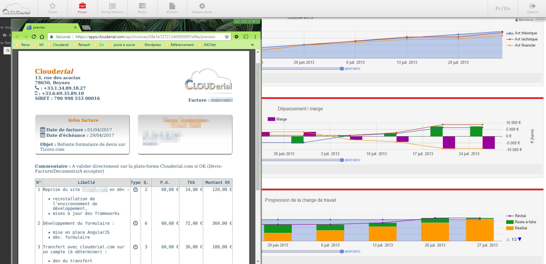 Avis Clouderial : Suite d'applications de gestion pour TPE et indépendants - Appvizer