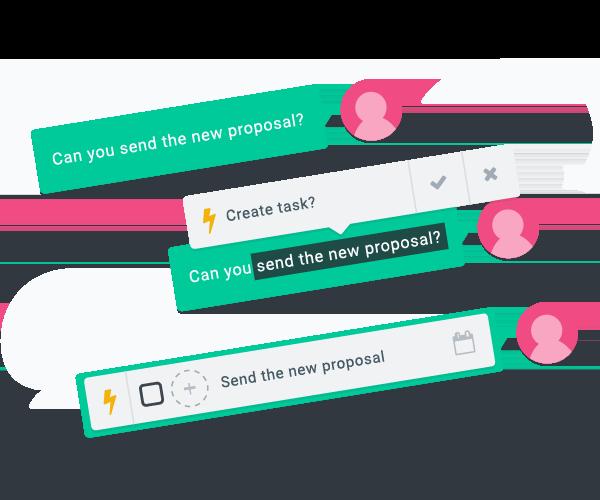 L'Intelligence Artificielle reconnait automatiquement vos messages être supposés des tâches