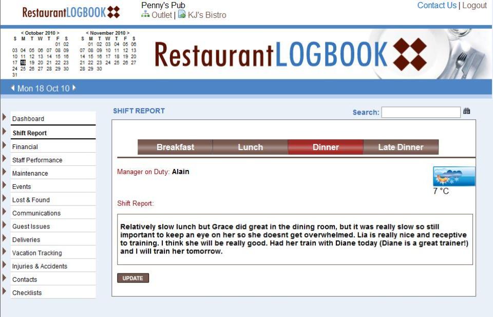 Restaurant LogBook-screenshot-2