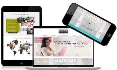 Création de sites carrières responsive