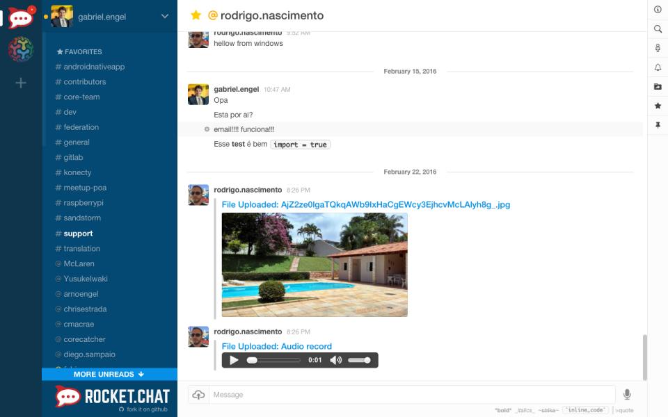Rocket.Chat-screenshot-1