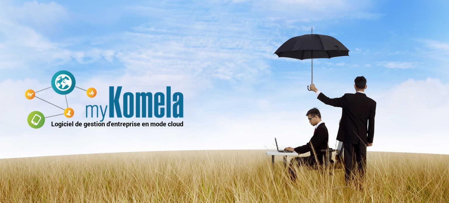 myKomela, logiciel de gestion d'entreprise dans le cloud