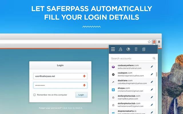 SaferPass-screenshot-1
