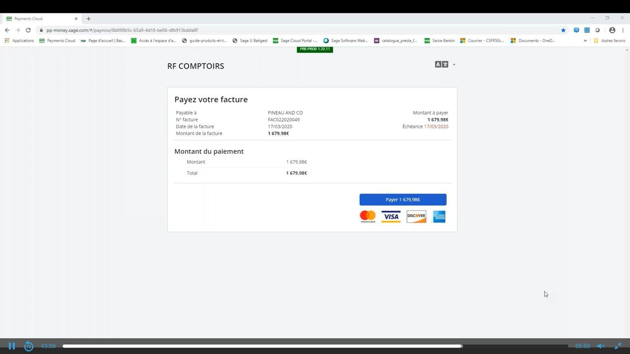 Facilitez le règlement de vos factures clients avec plusieurs modes de paiement en ligne