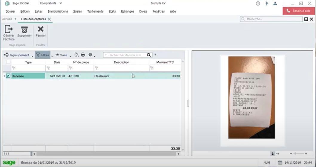 Capturez vos notes de frais en photo et envoyez les directement en comptabilité depuis votre mobile
