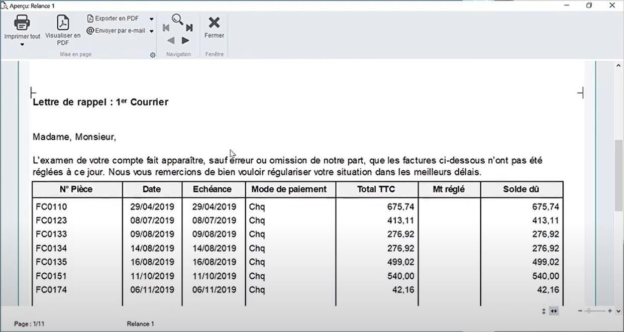 Sage 50 Facturation-50c_relance facture