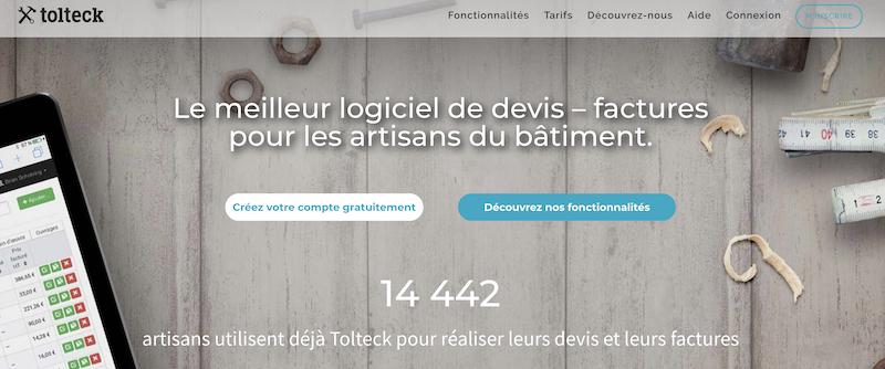 Avis Tolteck : Logiciel de devis et factures pour les artisans du bâtiment - appvizer