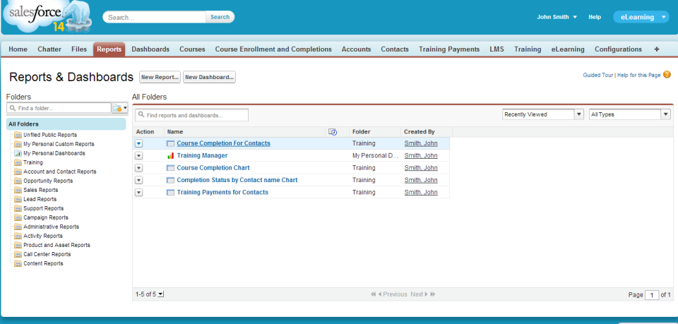 Salesforce Embedded LMS-screenshot-0