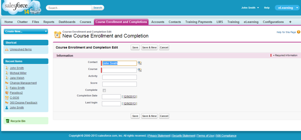 Salesforce Embedded LMS-screenshot-2