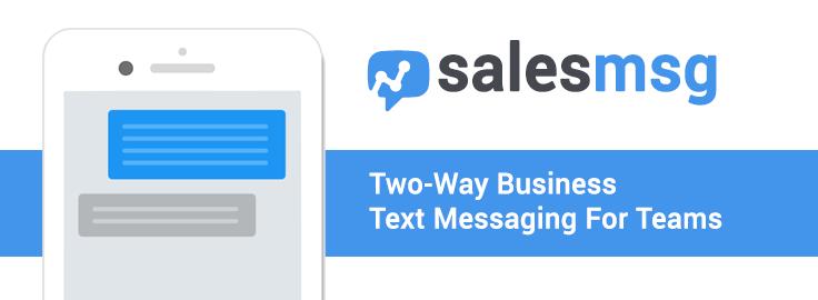 Salesmsg-screenshot-0